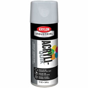 Krylon (5-Ball) Interior-Exterior Paint Pewter Gray - K01606 - Pkg Qty 6