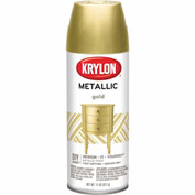Krylon Metallic Paint Gold Metallic - K01706 - Pkg Qty 6