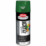 Krylon (5-Ball) Interior-Exterior Paint Emerald Green - K02016A07 - Pkg Qty 6