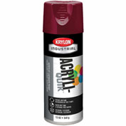 Krylon (5-Ball) Interior-Exterior Paint Cherry Red - K02101 - Pkg Qty 6