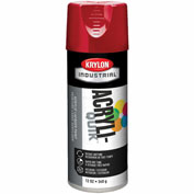 Krylon (5-Ball) Interior-Exterior Paint Banner Red - K02108 - Pkg Qty 6