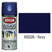 Krylon Fusion For Plastic Paint Gloss Navy - K02326007 - Pkg Qty 6