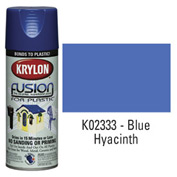Krylon Fusion For Plastic Paint Gloss Blue Hyacinth - K02333007 - Pkg Qty 6