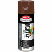 Krylon (5-Ball) Interior-Exterior Paint Leather Brown - K02501007 - Pkg Qty 6