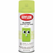 Krylon Glowz Paint Glow Green - K03150 - Pkg Qty 6