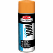 Krylon Industrial Iron Guard Latex Spray Paint Osha Orange - K07903 - Pkg Qty 12