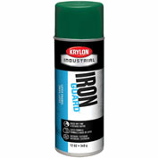 Krylon Industrial Iron Guard Latex Spray Paint Island Green - K07906 - Pkg Qty 12