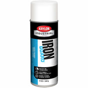Krylon Industrial Iron Guard Latex Spray Paint Flat White - K07910 - Pkg Qty 12