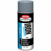 Krylon Industrial Iron Guard Latex Spray Paint Gray Primer - K07915 - Pkg Qty 12