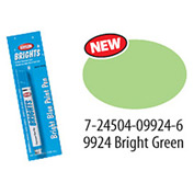 Krylon Fluorescent Paint Pens Bright Green - K09924000 - Pkg Qty 6