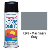 Krylon Industrial Weekend Economy Paint Machinery Gray - K348 - Pkg Qty 6