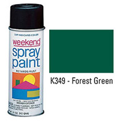 Krylon Industrial Weekend Economy Paint Forest Green - K349 - Pkg Qty 6