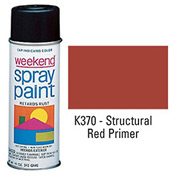 Krylon Industrial Weekend Economy Paint Red Primer - K370 - Pkg Qty 6