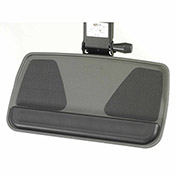 RightAngle™ MFP21/G Myriad Keyboard & Mouse Tray with FastAction Precision Arm, Graphite