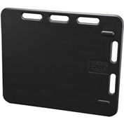 "Kane 3'SORP BLK Sorting Panel 30"" x 36"" Black"