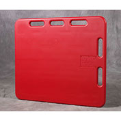 "Kane 4'SORP Sorting Panel 30"" x 48"" Red"