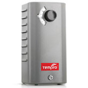 Tempro Industrial Bimetal Line Voltage Thermostat TP523, Heat Only, SPST, Single Stage