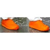 Heavy Duty Latex Boot/Shoe Covers, Orange, XL, 25 Pairs/Case