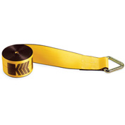 "Kinedyne Winch Strap 423010 with Delta Ring - 30' x 4"" Gold"