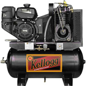 Kellogg Two-Stage Gas Powered Truck Mount Compressor with Kohler Engine L001132