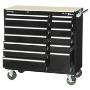 "Kennedy® 41"" 13-Drawer Roller Cabinet - Black"