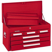 "Kennedy® 266R 26"" 6-Drawer Mechanics Chest - Red"