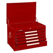 "Kennedy® 2705XR 27"" 5-Drawer Mechanics Chest - Red"