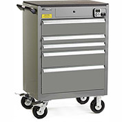 "Kennedy eKentrol Mobile Modular Drawer Cabinet 29015EKUGY - 5 Drawer 29""x20""x36"" Utility Gray"