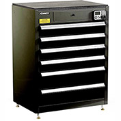 "Kennedy eKentrol Modular Drawer Cab w/Ind Drw Lock 29116EKBK - 6 Drawer 29""x20""x36"" Black"