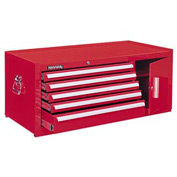"Kennedy® 39"" 5-Drawer Maintenance Chest - Red"