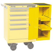 """Kennedy® 380MPYW 18"""" Hang-On Cabinet - Yellow"""