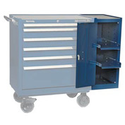 "Kennedy® 380MPBL 18"" Hang-On Cabinet - Blue"