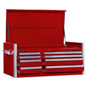 "Kennedy® 46"" 8-Drawer Top Chest - Red"