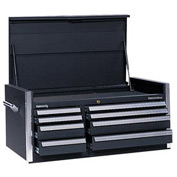 "Kennedy® 46"" 8-Drawer Top Chest - Black"
