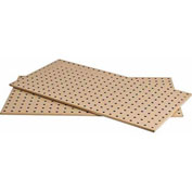 "Kennedy Manufacturing, 50002TX, 2-Panel Square Hole Toolboard Set 36"" x 16"" - Tan"