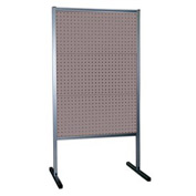 Kennedy Manufacturing 50068UGY 3-Panel Double-Sided Toolboard Stand - Gray