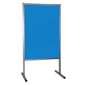 Kennedy Manufacturing 50068UB 3-Panel Double-Sided Toolboard Stand - Blue