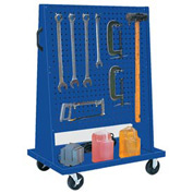 Kennedy Manufacturing 50102BL Trolley Based for 4-Panel Square Hole Set - Classic Blue