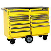 "Kennedy® 5804MPYW 58"" 12-Drawer Roller Cabinet - Yellow"
