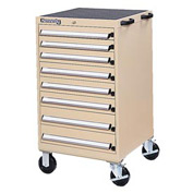 Kennedy® 61750TX 8-Drawer Mobile Modular Cabinet