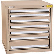 "Kennedy HDS Modular Drawer Cabinet 7323TX - Standard 7 Drawer 31""W x 30""D x 32 Tan"