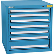 "Kennedy HDS Modular Drawer Cabinet 7323UB - Standard 7 Drawer 31""W x 30""D x 32 Blue"