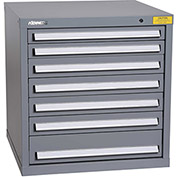 "Kennedy HDS Modular Drawer Cabinet 7323UGY - Standard 7 Drawer 31""W x 30""D x 32 Gray"