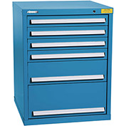"Kennedy HDS Modular Drawer Cabinet 7325UB - Standard 6 Drawer 31""W x 30""D x 40 Blue"