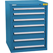 "Kennedy HDS Modular Drawer Cabinet 7326UB - Standard 7 Drawer 31""W x 30""D x 40 Blue"