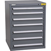 "Kennedy HDS Modular Drawer Cabinet 7326UGY - Standard 7 Drawer 31""W x 30""D x 40 Gray"