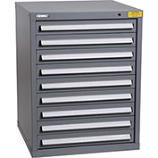"Kennedy HDS Modular Drawer Cabinet 7327UGY - Standard 9 Drawer 31""W x 30""D x 40 Gray"