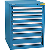 "Kennedy HDS Modular Drawer Cabinet 7328UB - Standard 9 Drawer 31""W x 30""D x 40 Blue"