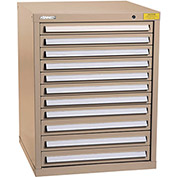 "Kennedy HDS Modular Drawer Cabinet 7329TX - Standard 11 Drawer 31""W x 30""D x 40 Tan"