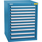 "Kennedy HDS Modular Drawer Cabinet 7329UB - Standard 11 Drawer 31""W x 30""D x 40 Blue"